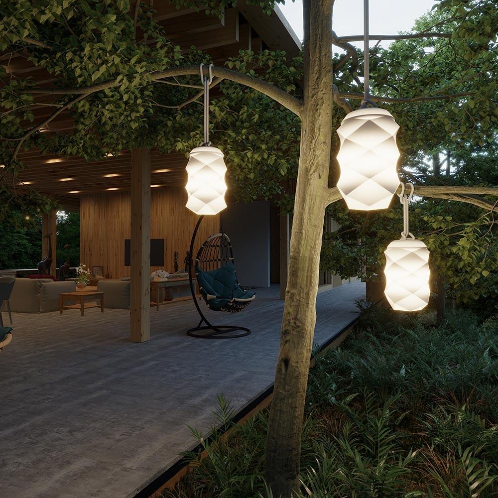 Licht-Trend LED-Pendelleuchte Bita mit Akku und Fernbedienung  4