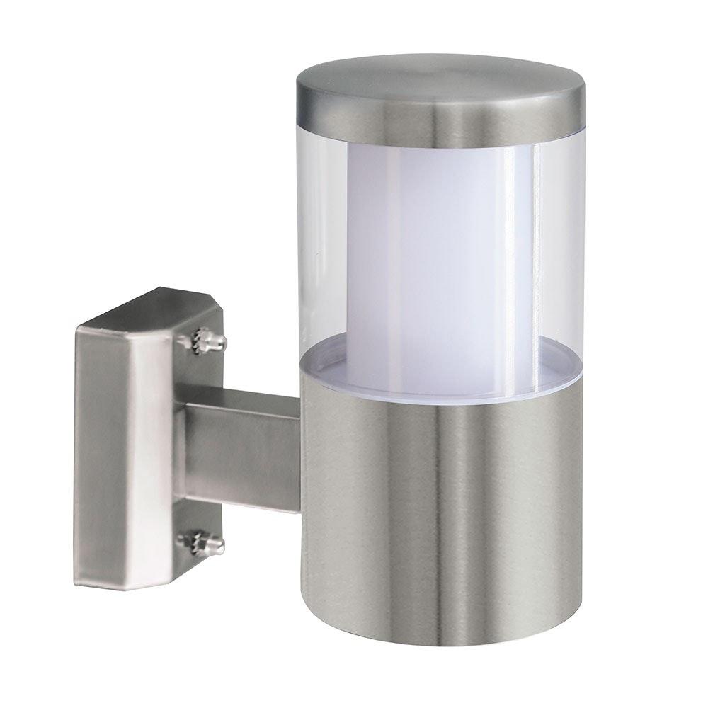 LED Edelstahl Aussen-Wandlampe Balcarres 3, 7W