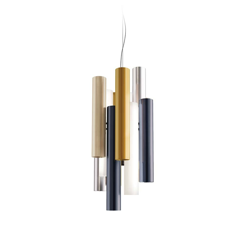Kundalini LED Design-Hängelampe Toot 51cm Mehrfarbig Dimmbar 1
