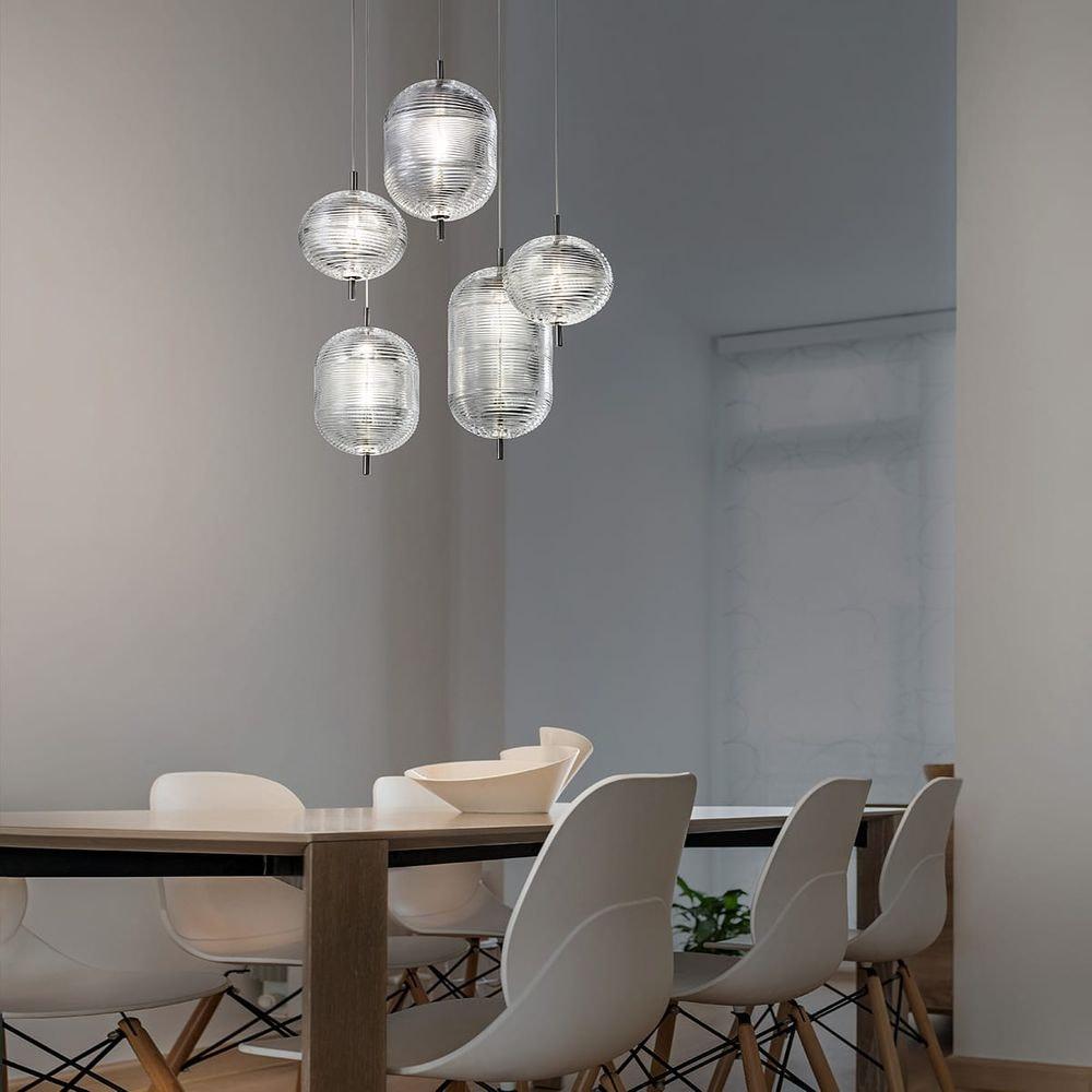 Studio Italia Design Jefferson LED Glas Hängelampe thumbnail 3