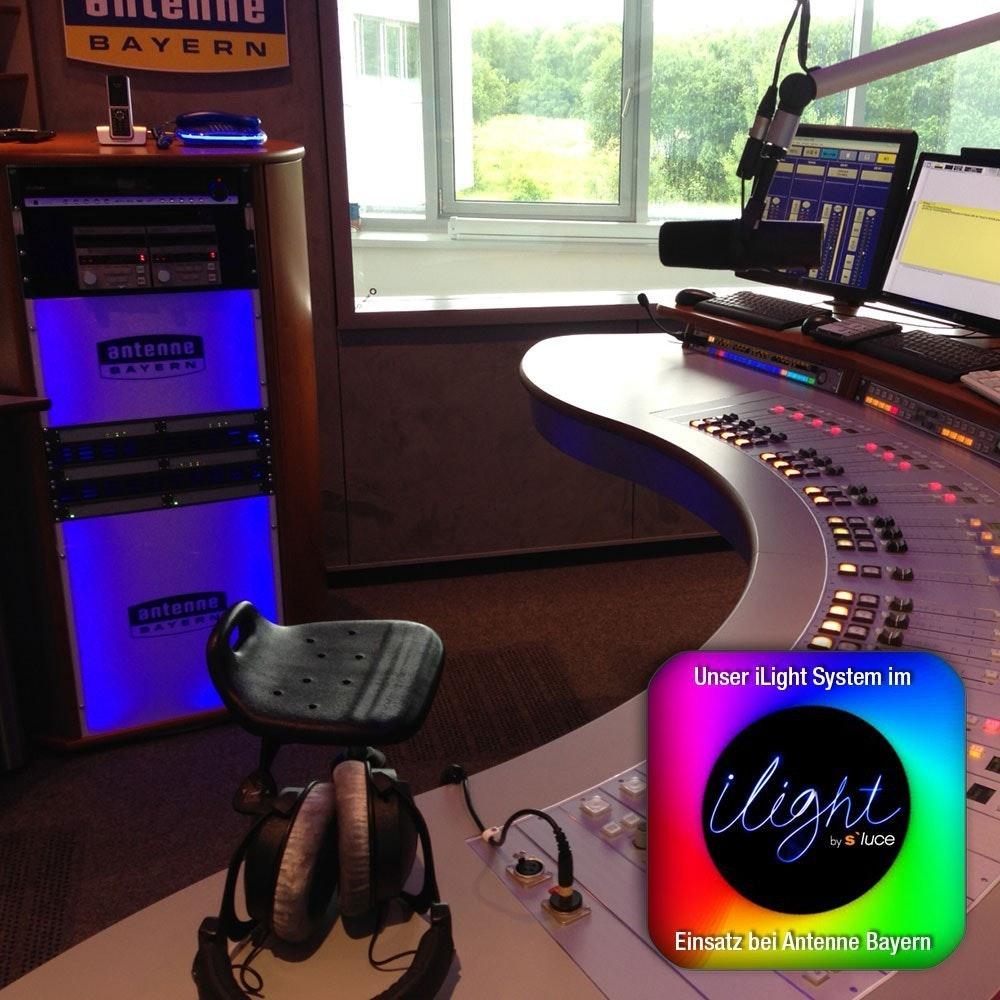 s.LUCE iLight Touch Panel für Leuchtmittel & Strip RGB + CCT Schwarz 2
