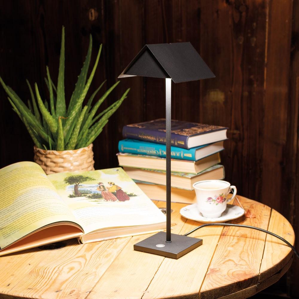s.LUCE Book Buchständer Tischleuchte mit Touchdimmer & Sensor thumbnail 4