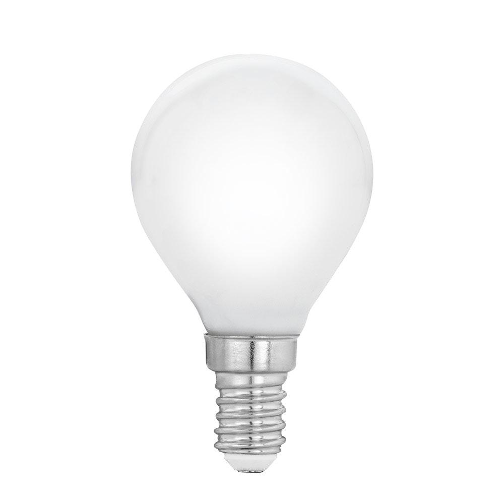 E14 LED Glühbirne Milky Tropfen 4W, 470lm Warmweiß
