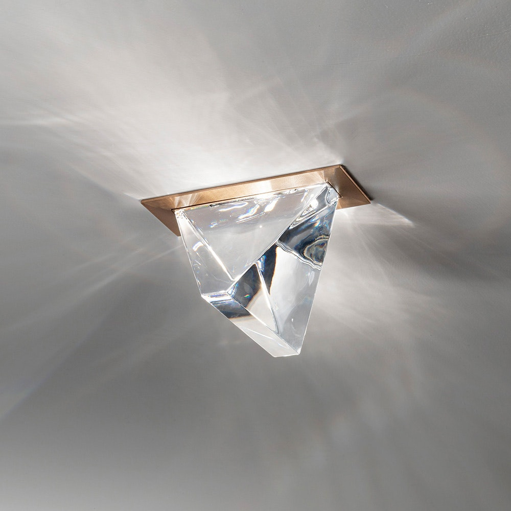Fabbian Tripla LED-Einbauleuchte