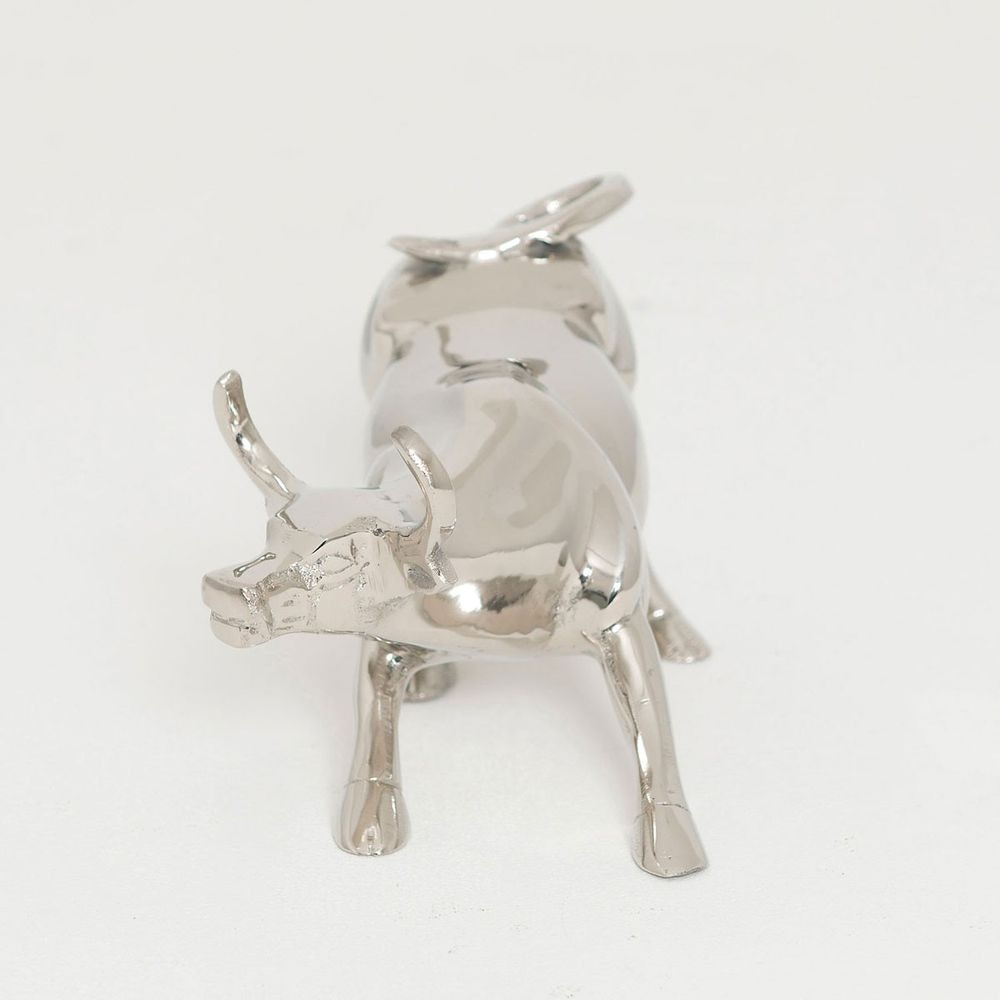 Stier Corrida Aluminium Silber 2