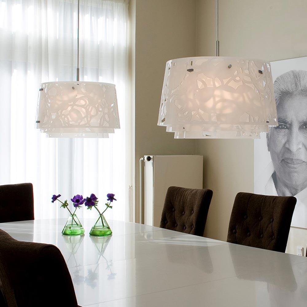 Louis Poulsen Pendelleuchte Collage 450 Weiß 8