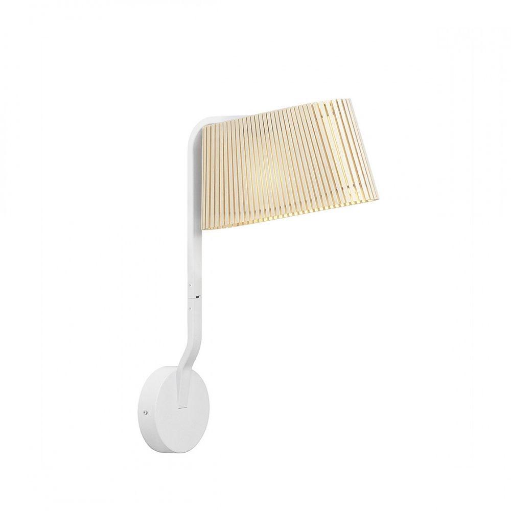 LED Wandleuchte Owalo 7030 aus Holz 47cm 3