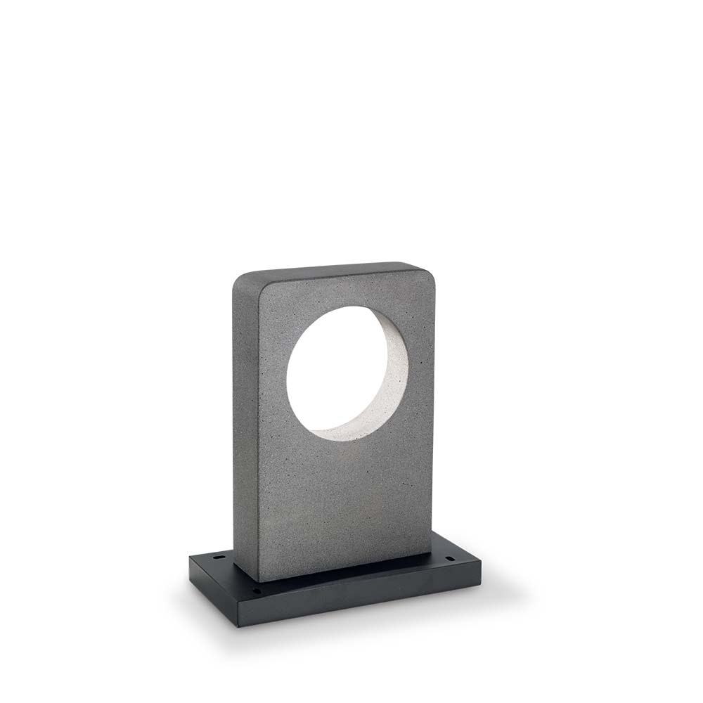 Ideal Lux LED Wegelampe Hole IP55 Granit, Schwarz 2
