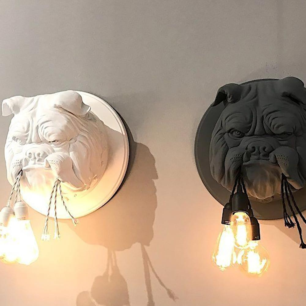 Karman Amsterdam Wandleuchte Bulldogge 2