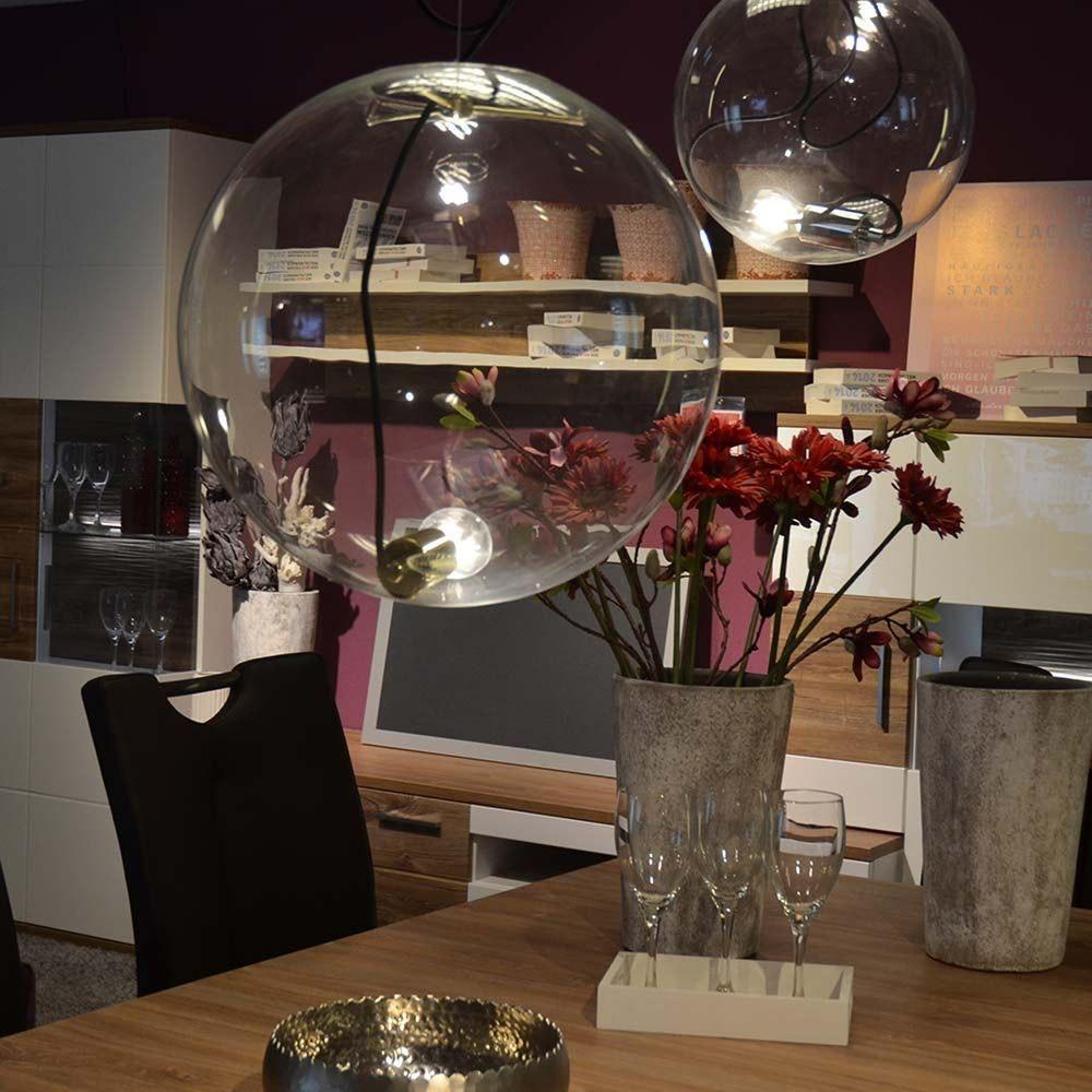 s.LUCE pro Sphere Galerieleuchte Glaskugel 5m Abhängung 5