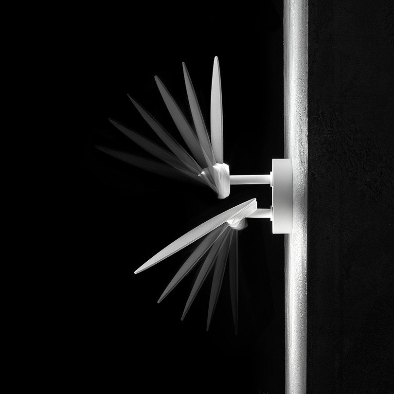 Studio Italia Design Puzzle Round Outdoor Double LED Wandlampe thumbnail 5