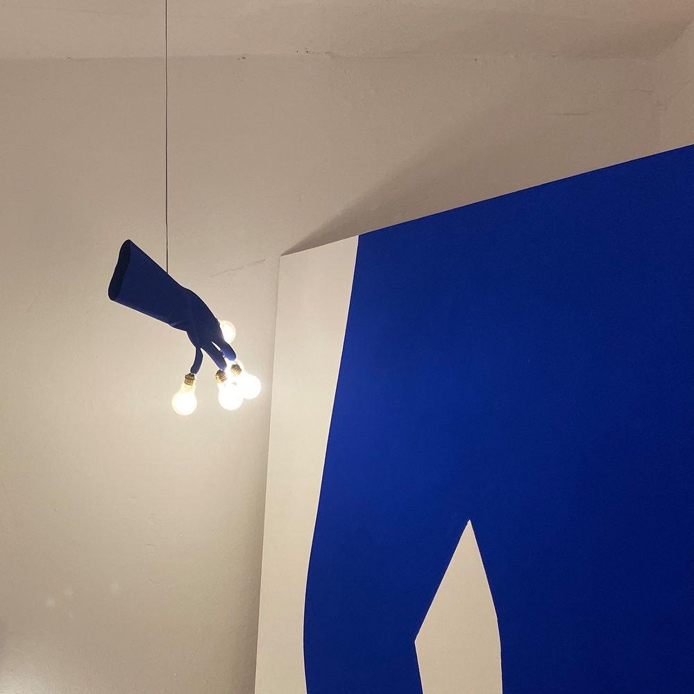 Ingo Maurer LED Händelampe Luzy Take Five Handschuh