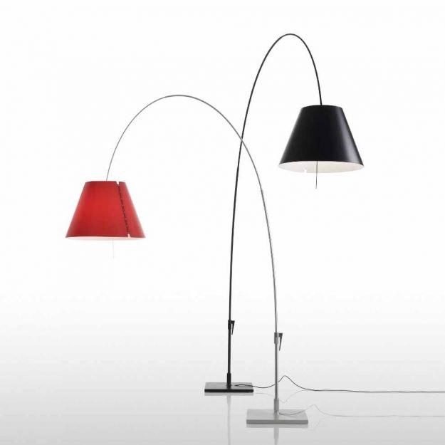 Luceplan Lady Costanza Bogenlampe mit Dimmer