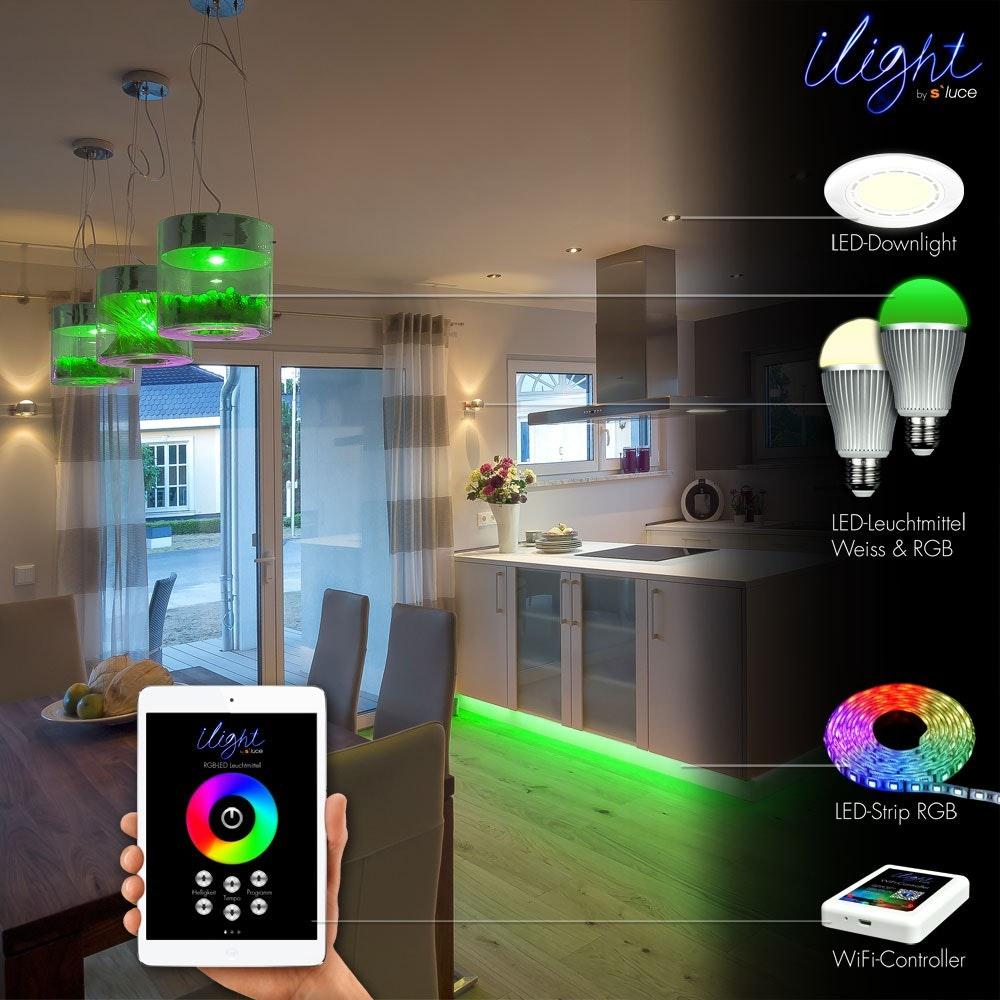 s.LUCE iLight Funk-Controller für LED-Strips RGBW 5