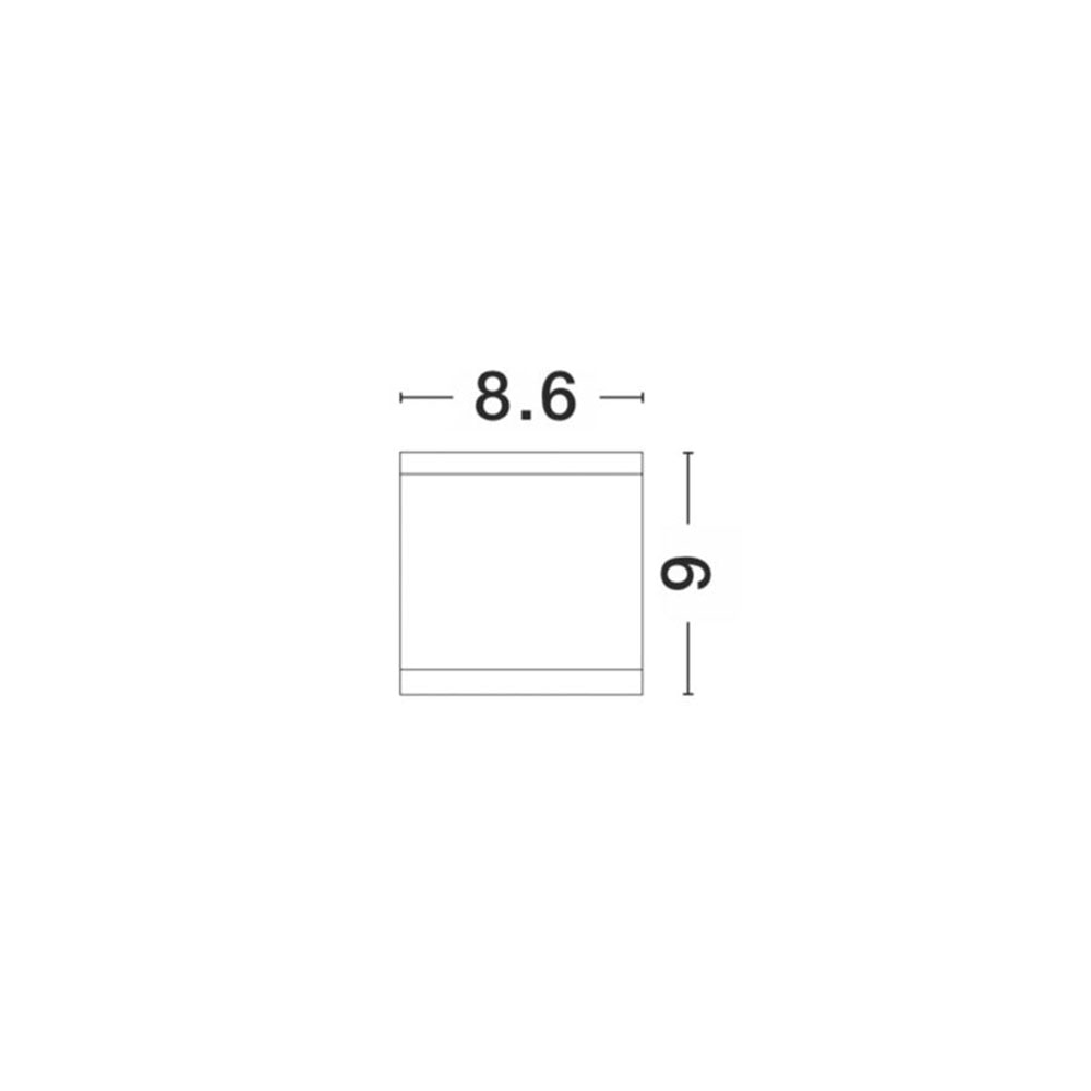 Deckenleuchte Cerise Außen Weiß 2