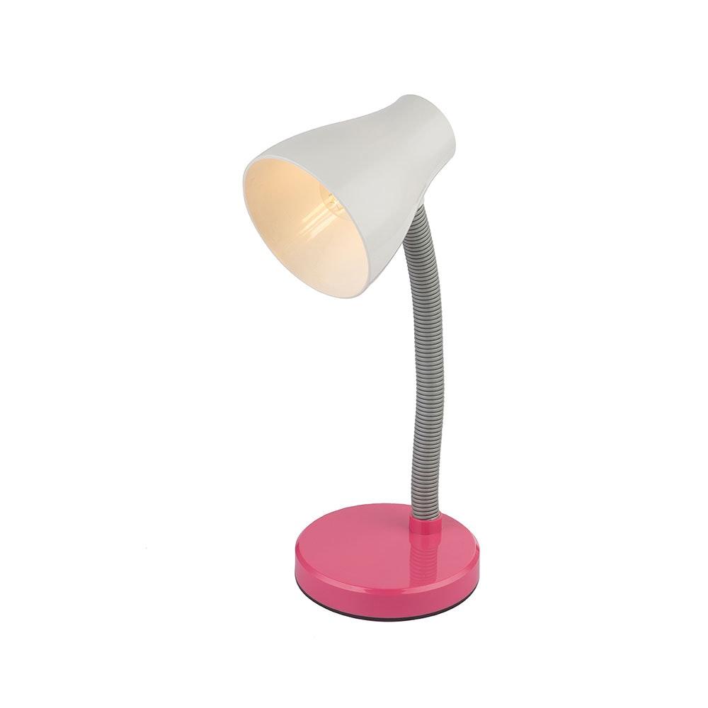 LED Tischleuchte Flynn Flexo Pink, Weiß 2