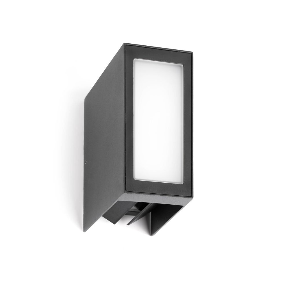 LED Außenwandleuchte LOG 3000K IP54 Dunkelgrau 2