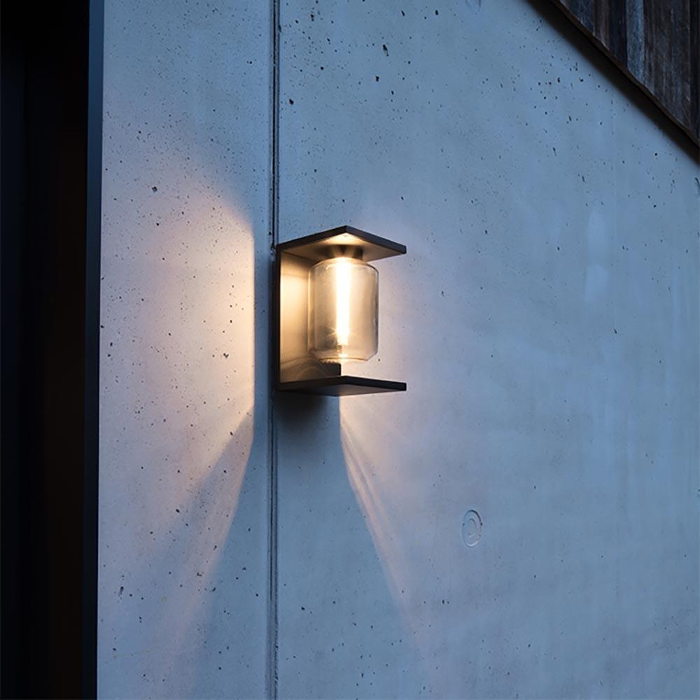 IP44.de Dia LED-Außenwandleuchte mit Glas IP65 thumbnail 3