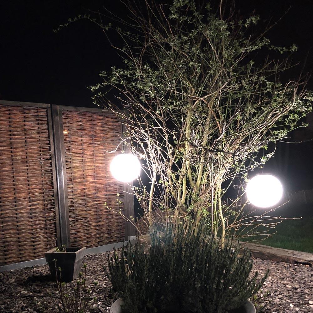 s.LUCE Hänge-Globe Kugellampe mit 15m Kabel IP54 5