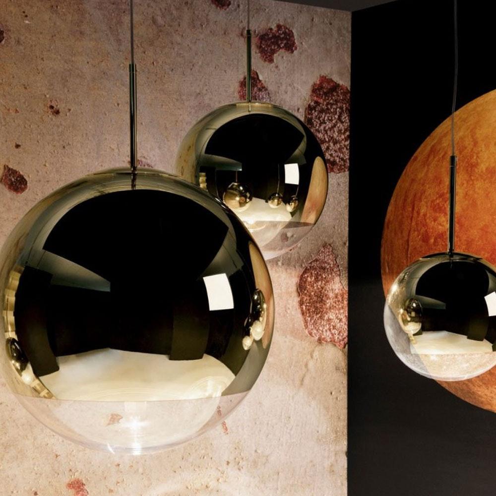 Tom Dixon Mirror Ball 3er Mobile Galerieleuchte 2
