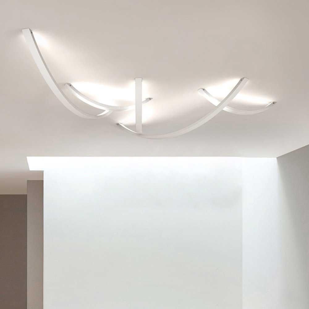 s.LUCE Ring L indirekte LED-Wandleuchte 66cm 2