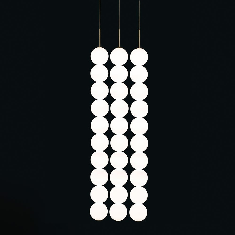 Terzani Abacus LED Design-Hängelampe 3er 2