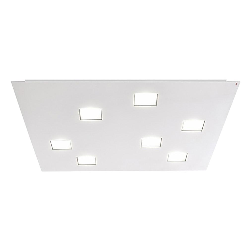 Fabbian Quarter LED-Deckenleuchte quadratisch 7-flammig 4