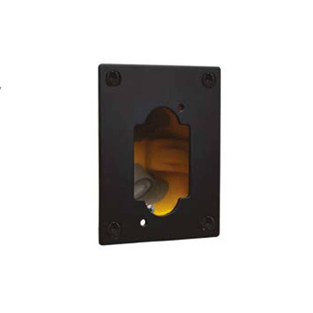 DCW Stahlplatte für Vision-Omni-Modelle zum Abdecken einer CE-Anschlussdose