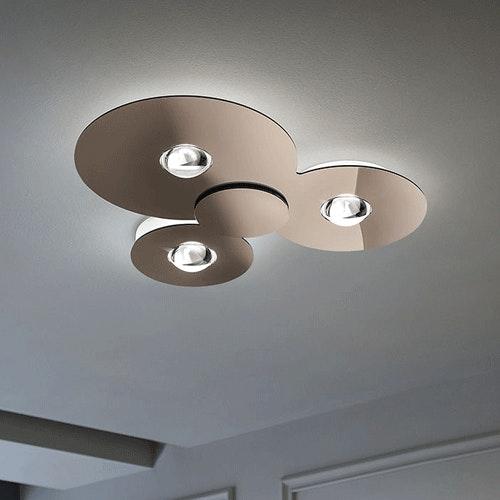 Studio Italia Design Bugia Triple LED Deckenlampe thumbnail 5