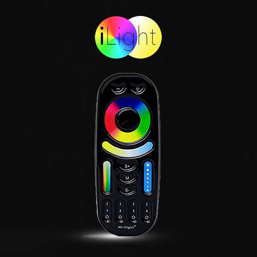 s.LUCE iLight Fernbedienung für Leuchtmittel & Strip RGB + CCT Schwarz