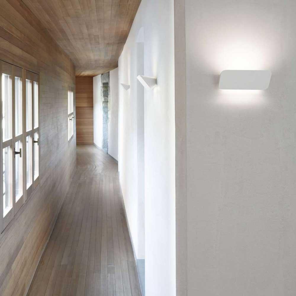 Luceplan Wandleuchte Lane 22cm weiss 1
