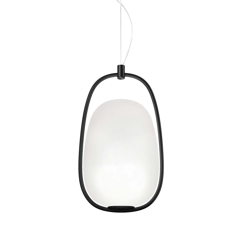 Kundalini Pendellampe Lanna Ø 22cm H 40cm Opalglas 1