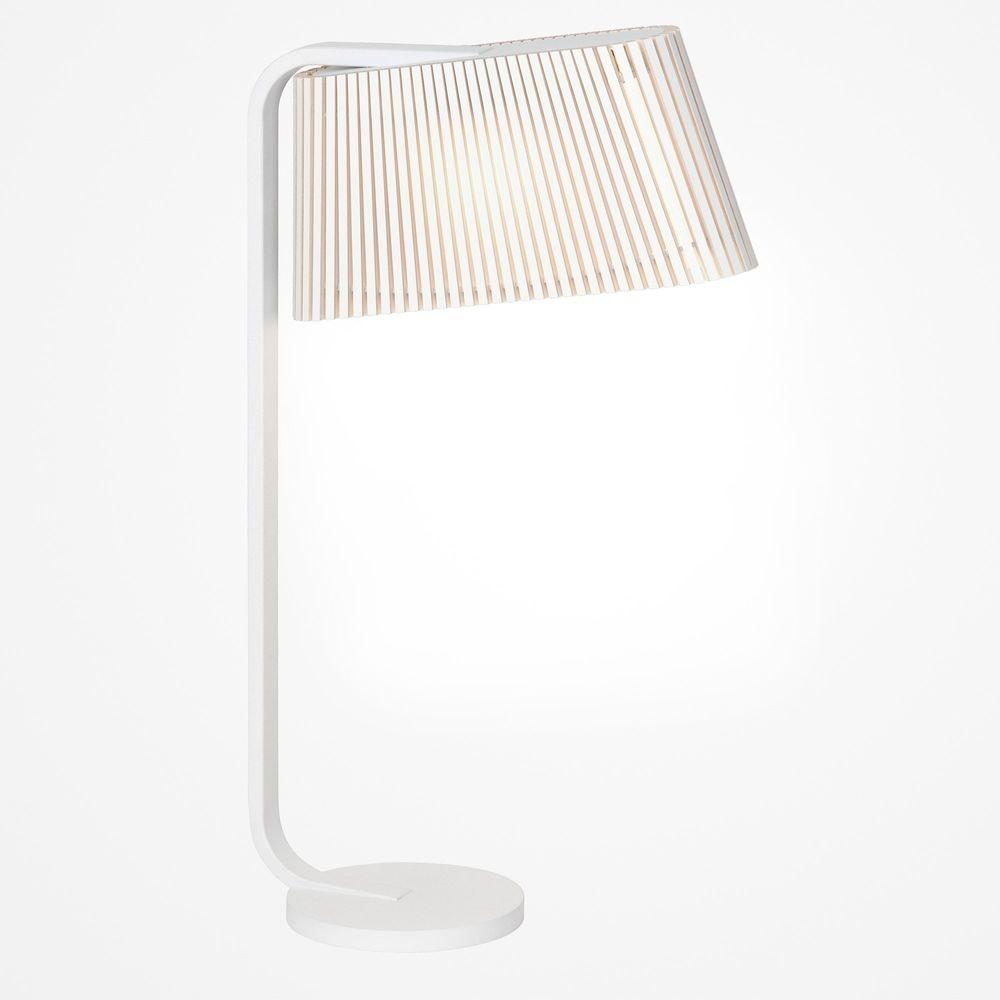 LED Tischleuchte Owalo 7020 aus Holz 50cm 7