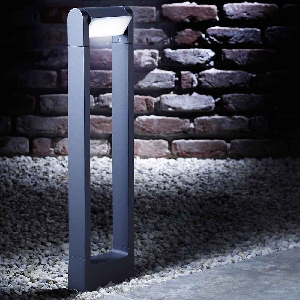 Bollard LED-Außen-Pollerleuchte 65cm 360lm Anthrazit
