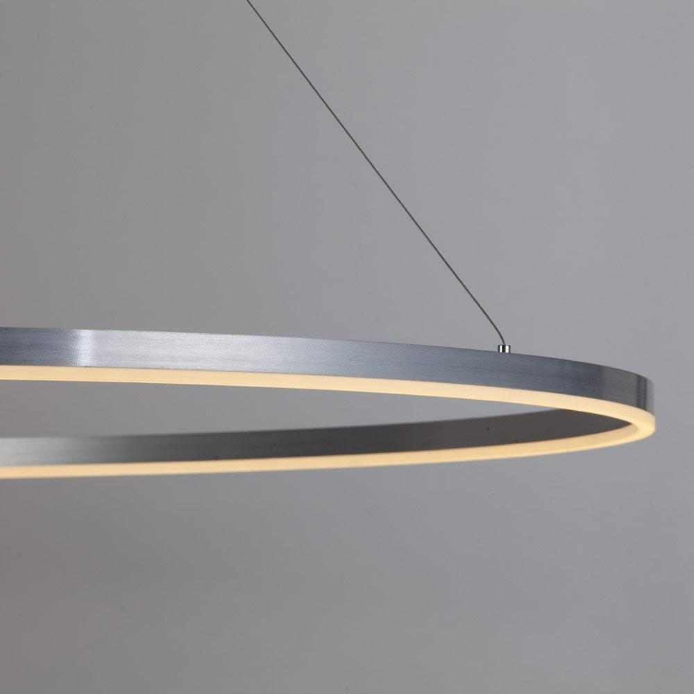 s.LUCE Ring 100 LED Hängelampe 5m Abhängung 18