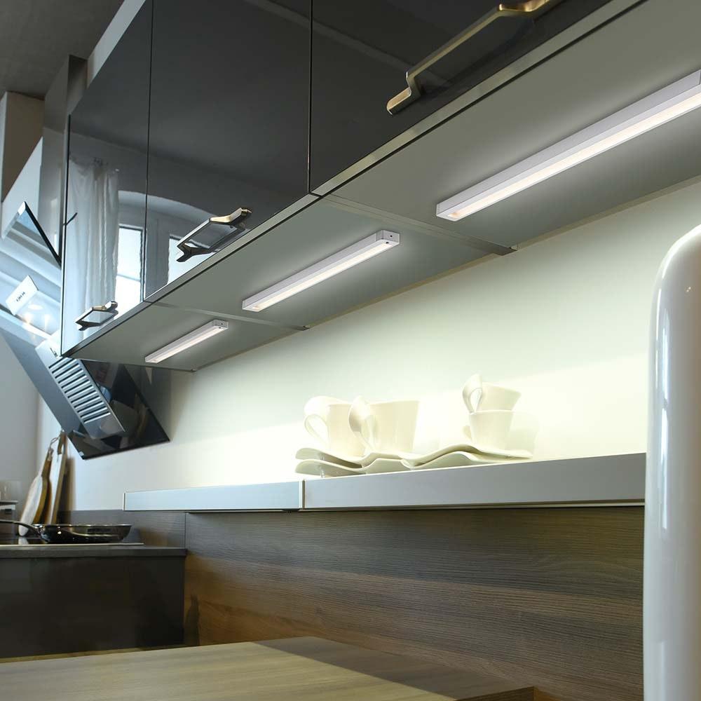 Helena Unterbauleuchte, aluminium 1xLED-Board, 6W, 3000K IP20
