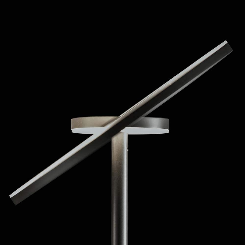 Holtkötter LED-Deckenfluter NOVA Alu-Matt Tastdimmer 7700+2200lm 2700K 3