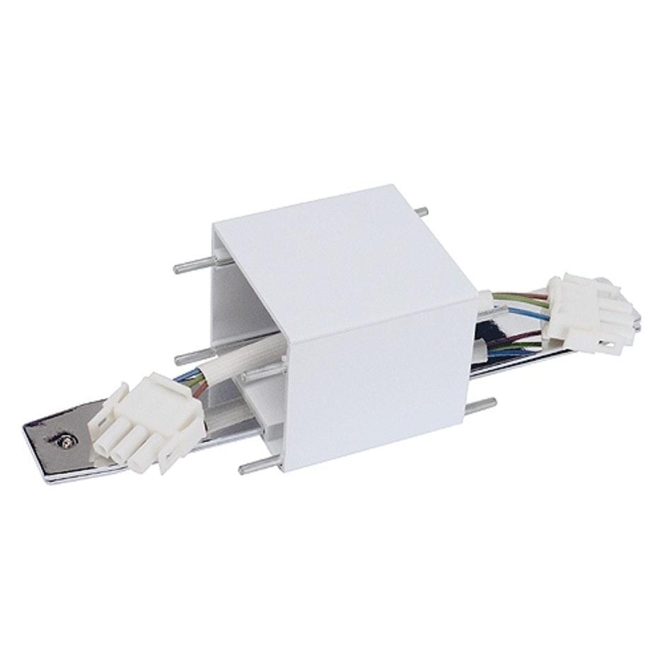 SLV Längs-Verbinder für Q-Line Wall weiss chrom 1