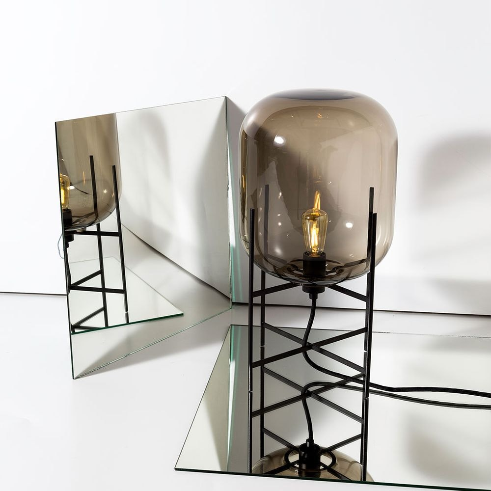 Pulpo LED Tischlampe Oda Medium Ø 45cm H 85cm 7