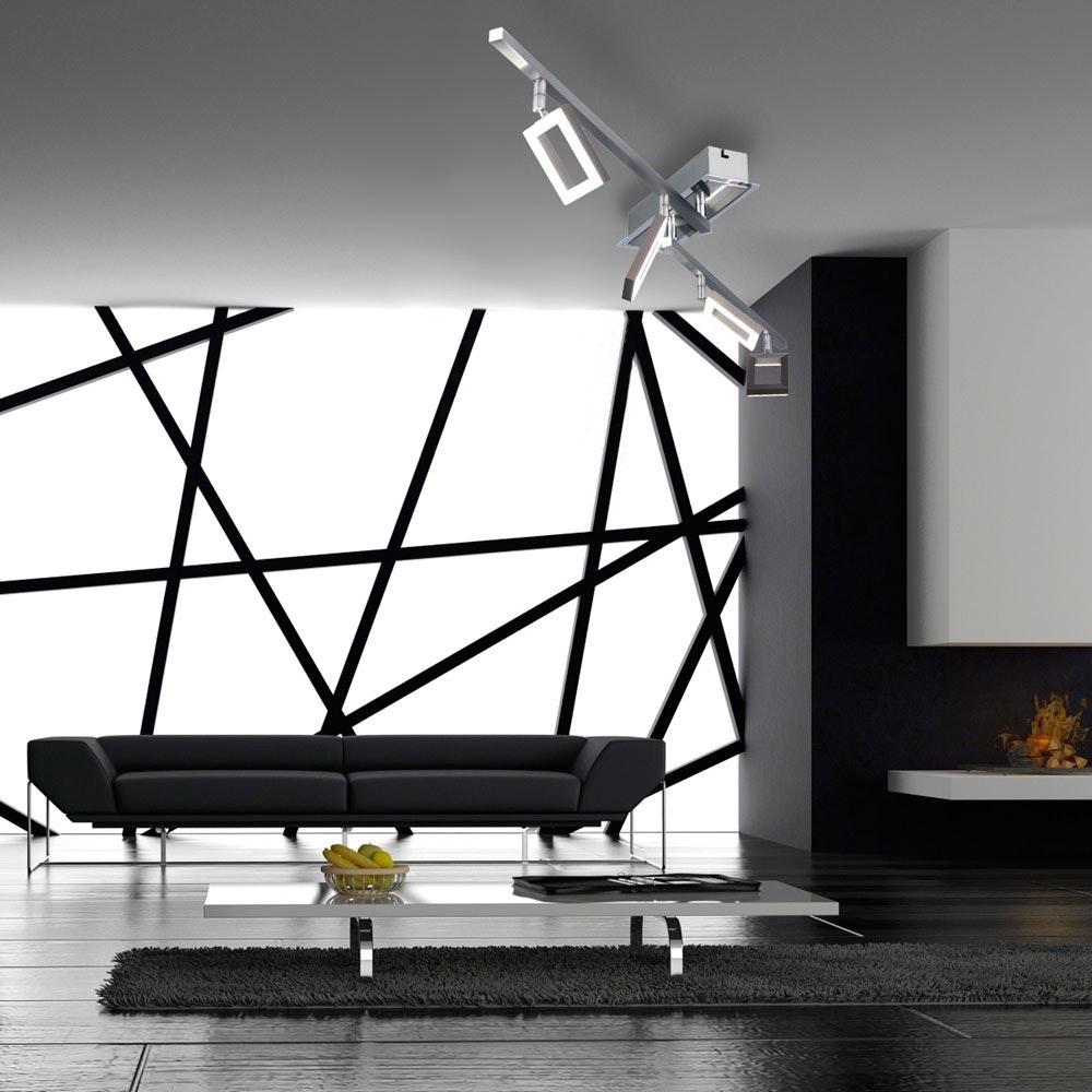 Inigo LED Deckenleuchte Stahl 2