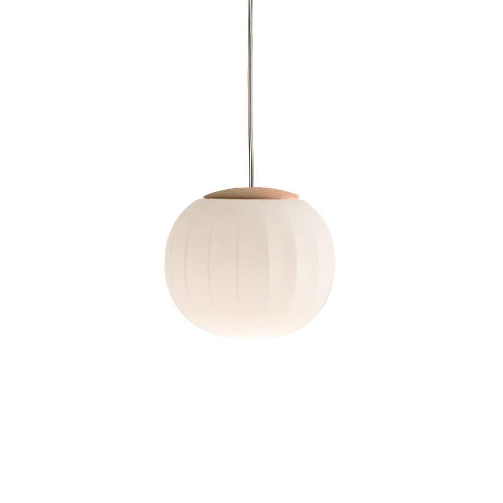 Luceplan LED Hängelampe Lita Ø 14cm Glas 1