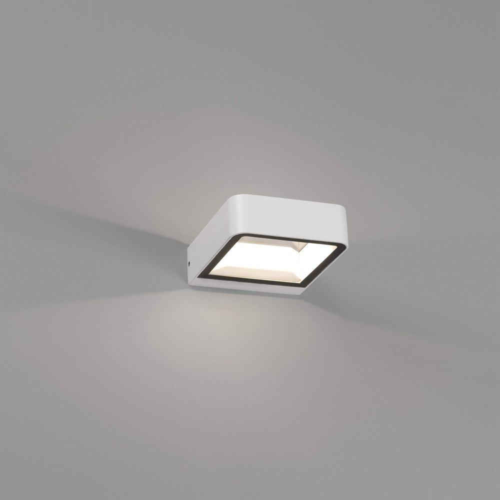 LED Außenwandlampe AXEL 3000K IP65 Weiß