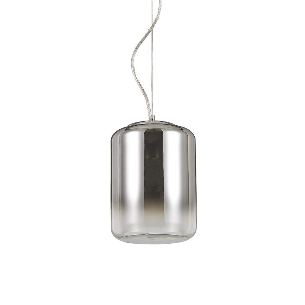 Ken Pendelleuchte verspiegelter Glaszylinder 30cm 1