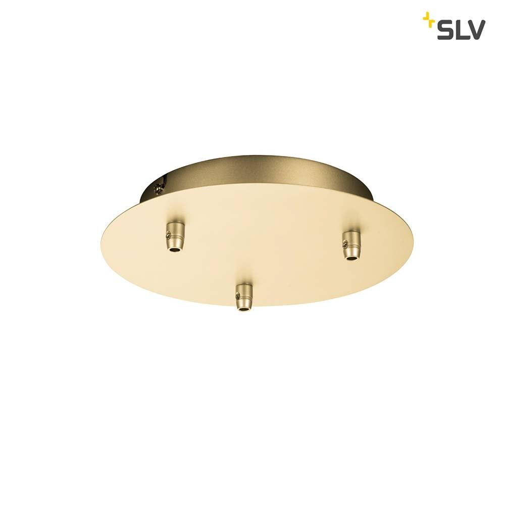 SLV Fitu Dreifach Rosette Soft Gold