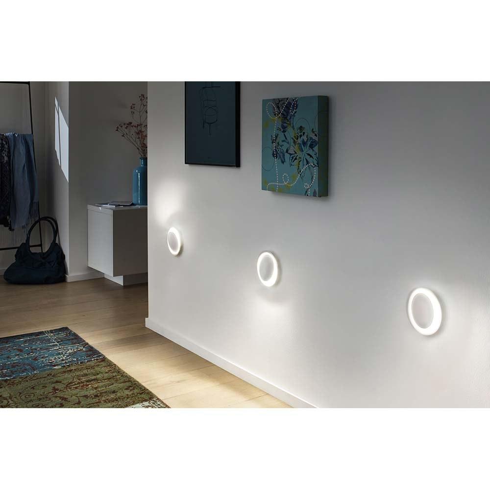 Wand Einbauleuchten-Set Neordic 2700K Marmor, Weiß 1