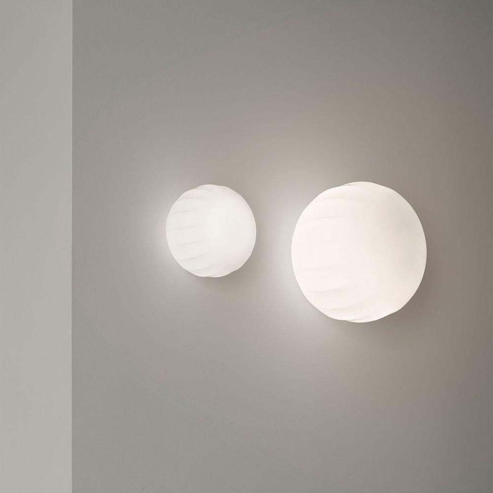 Luceplan Lita Wand- & Deckenlampe Ø 14cm Weiß