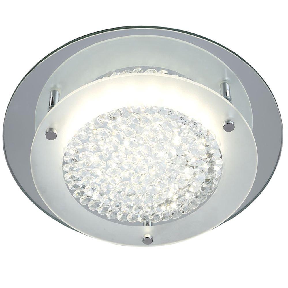 Mantra Crystal LED Mirror runde Deckenlampe 4