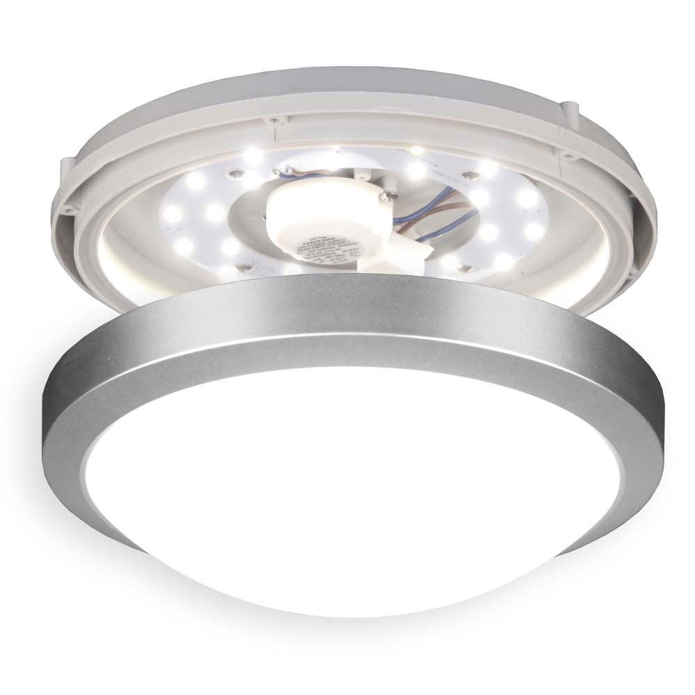 Acca LED-Deckenleuchte für Innen und Aussen Ø 27cm 2