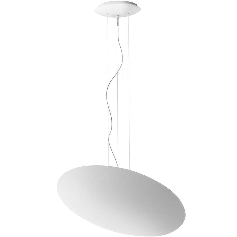 Panzeri Gong LED-Pendelleuchte Scheibe indirekt 1