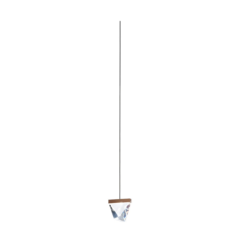 Fabbian Tripla LED-Hängeleuchte 6m Abhängung ohne Baldachin 1